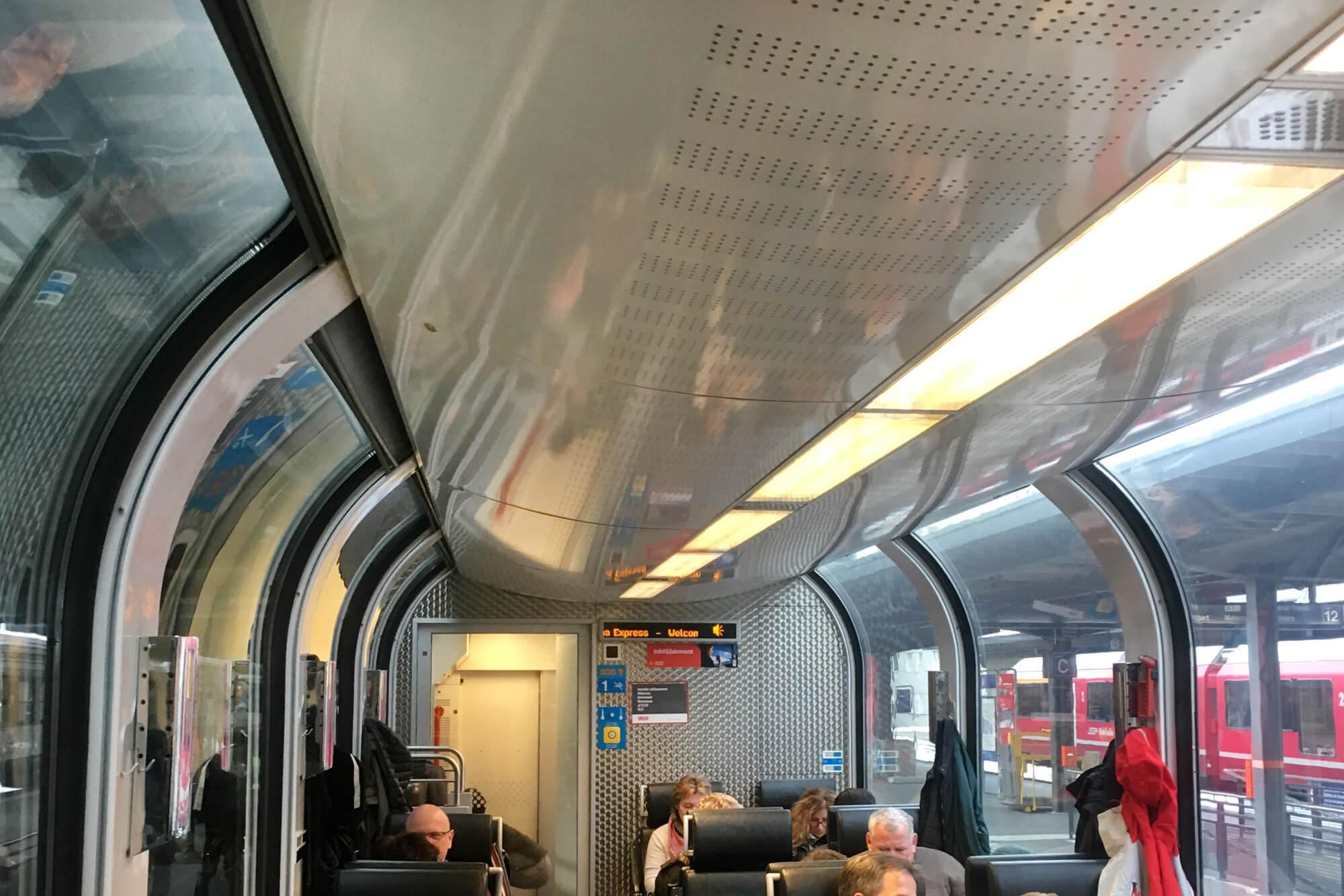 Bernina Express - Window View