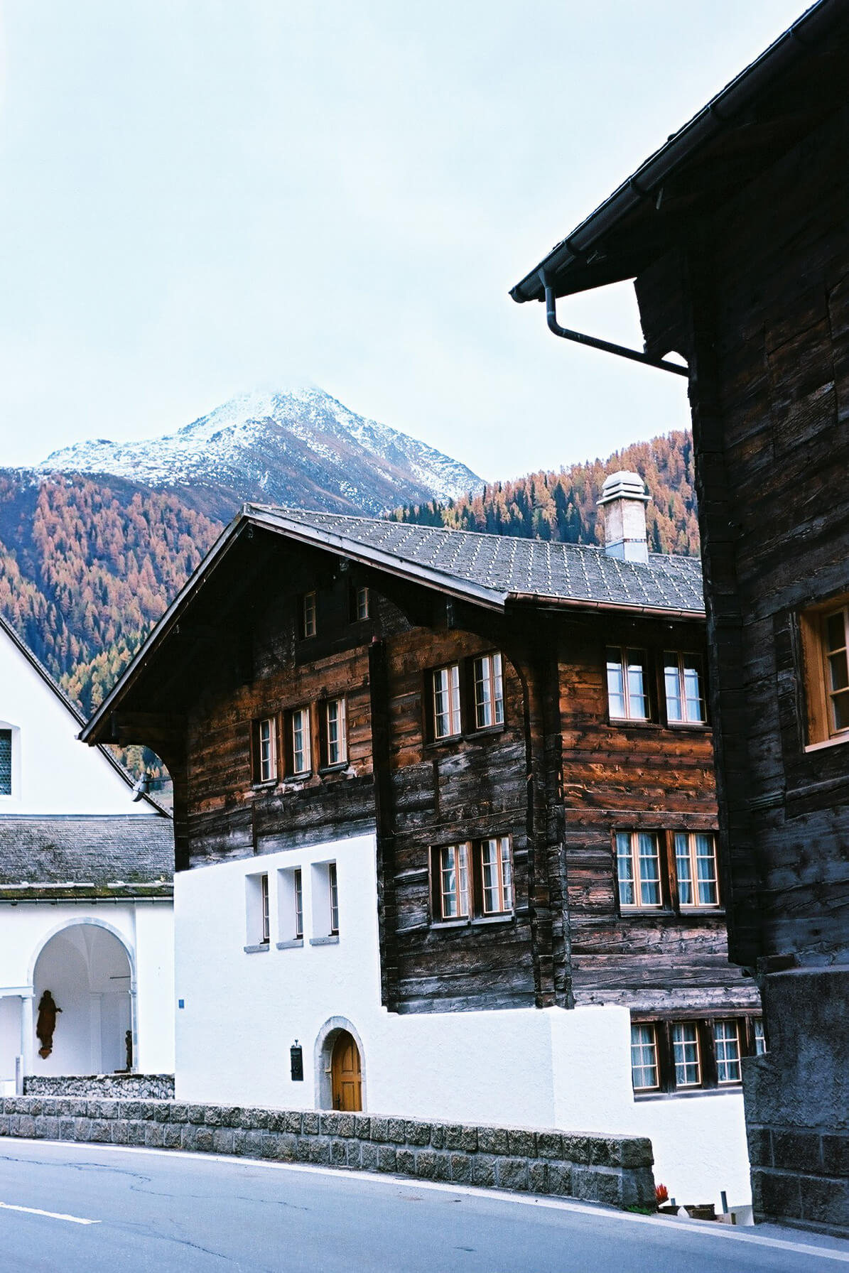Münster-Geschinen Village, Switzerland