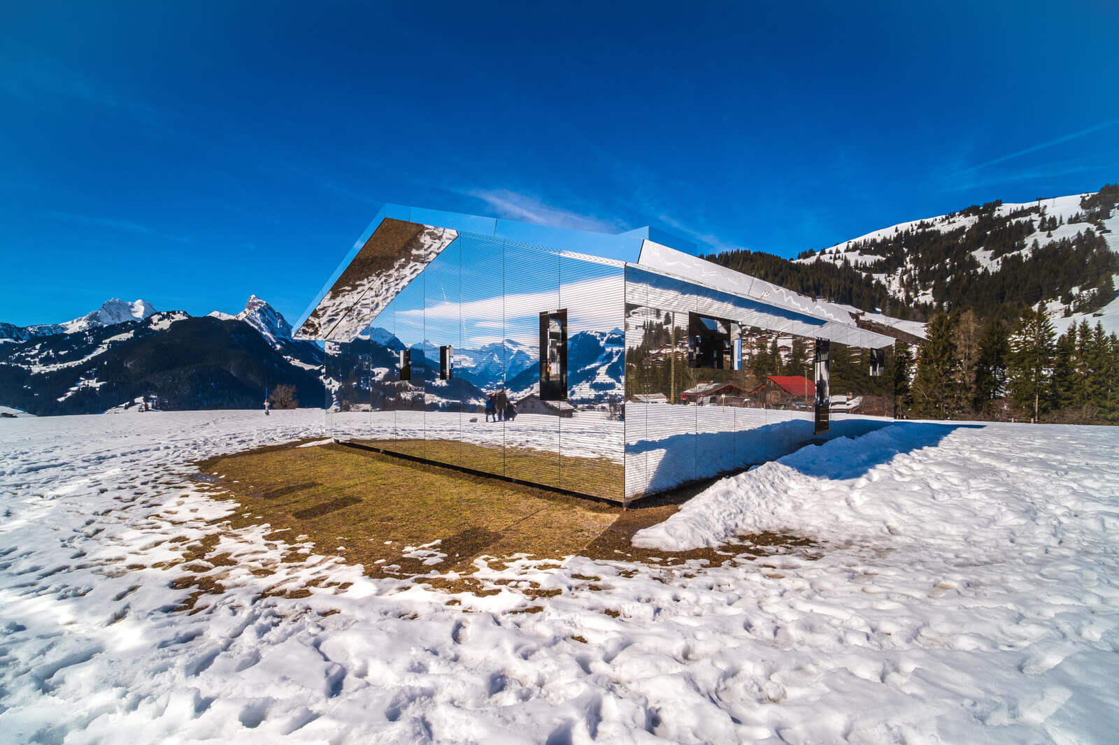 Mirage Chalet in Gstaad by Doug Aitken
