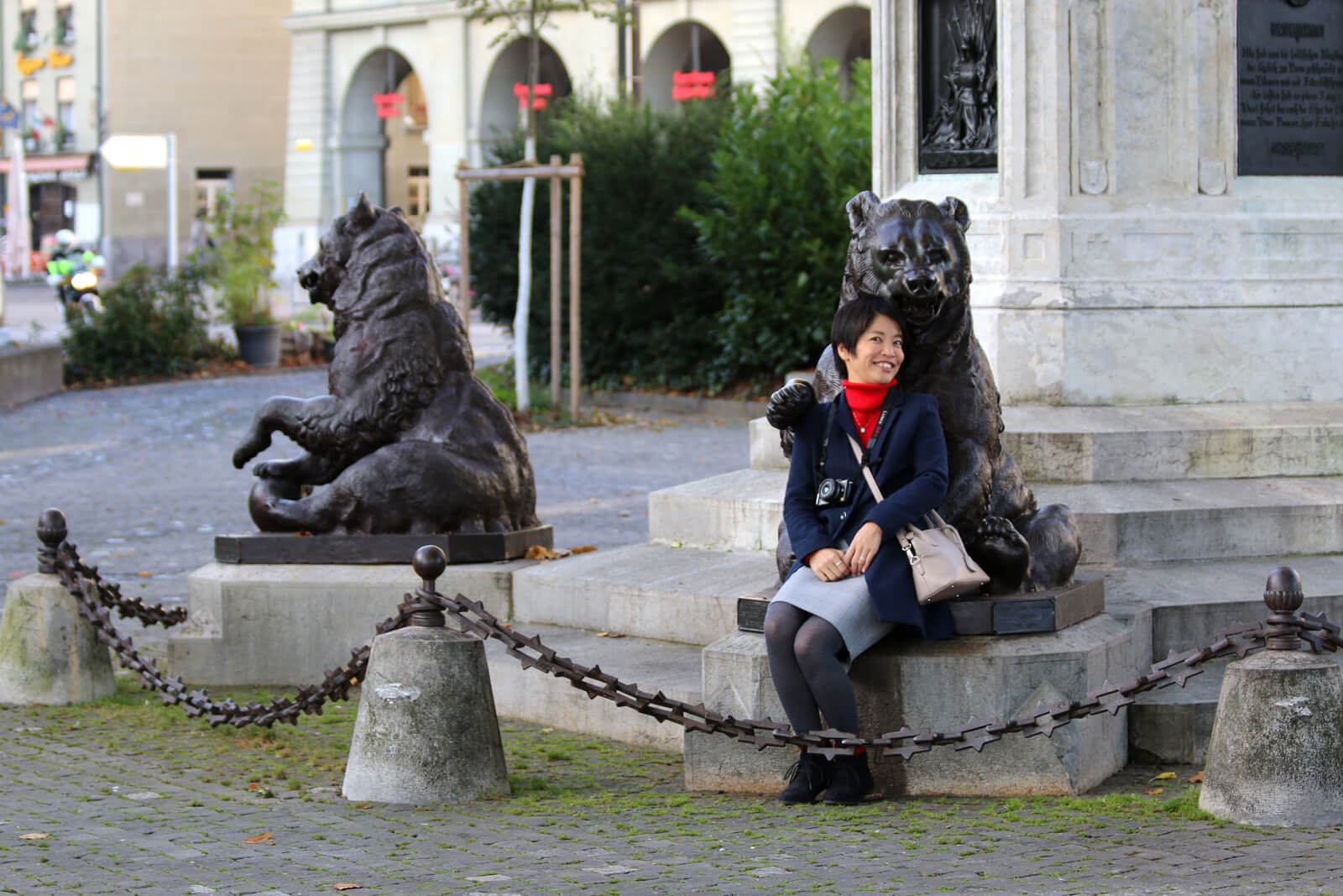 Bear Statues in the Old Town of Bern