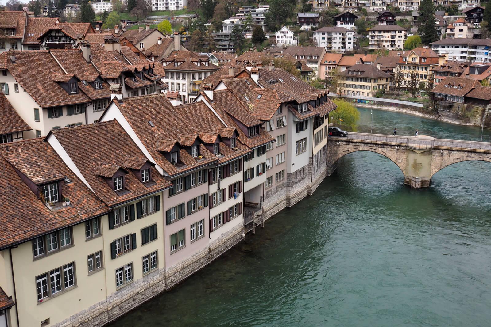 The River Aare in Bern, Switzerland