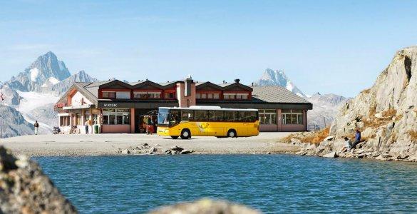 Swiss PostBus - Nufenen Pass