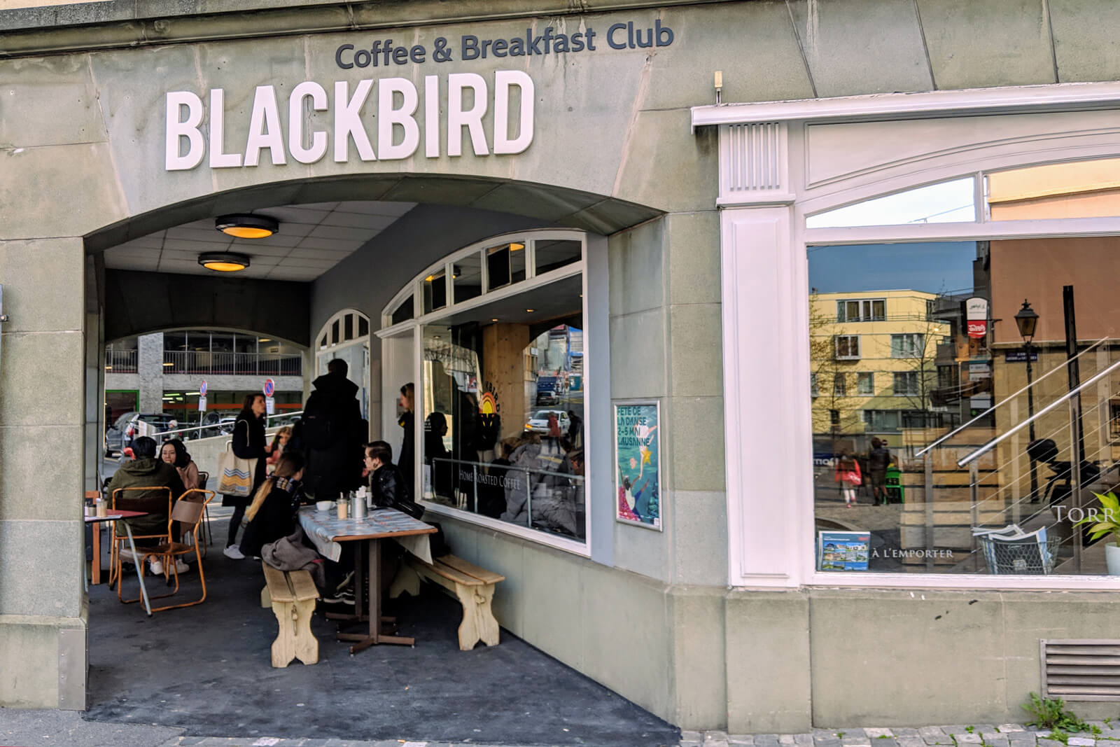 Blackbird Breakfast Club in Lausanne