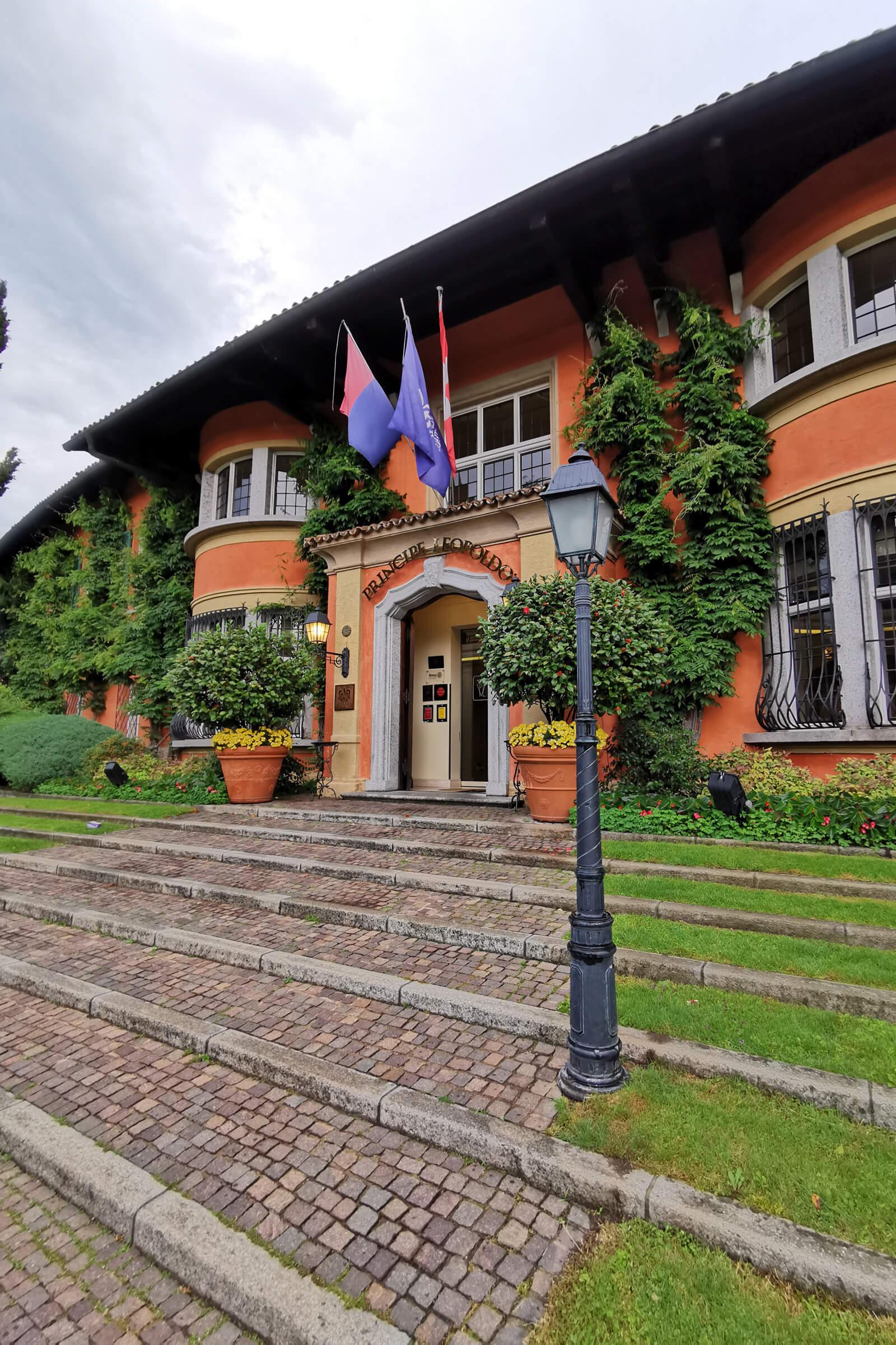 Hotel Villa Principe Leopoldo in Lugano, Switzerland