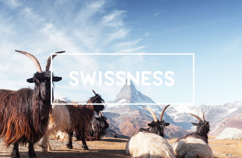 Newly Swissed Categories - Swissness
