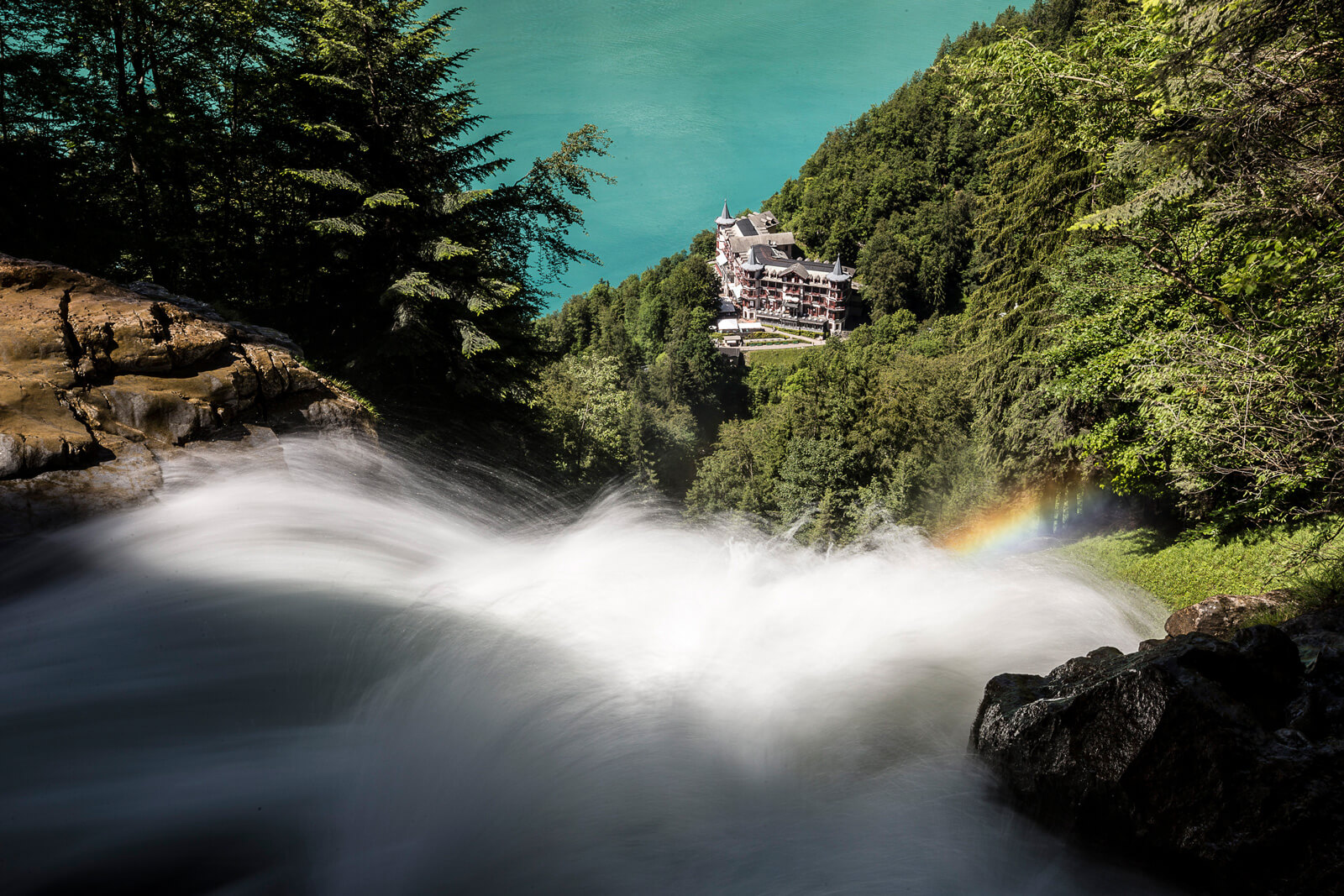Brienz - Giessbach Waterfalls