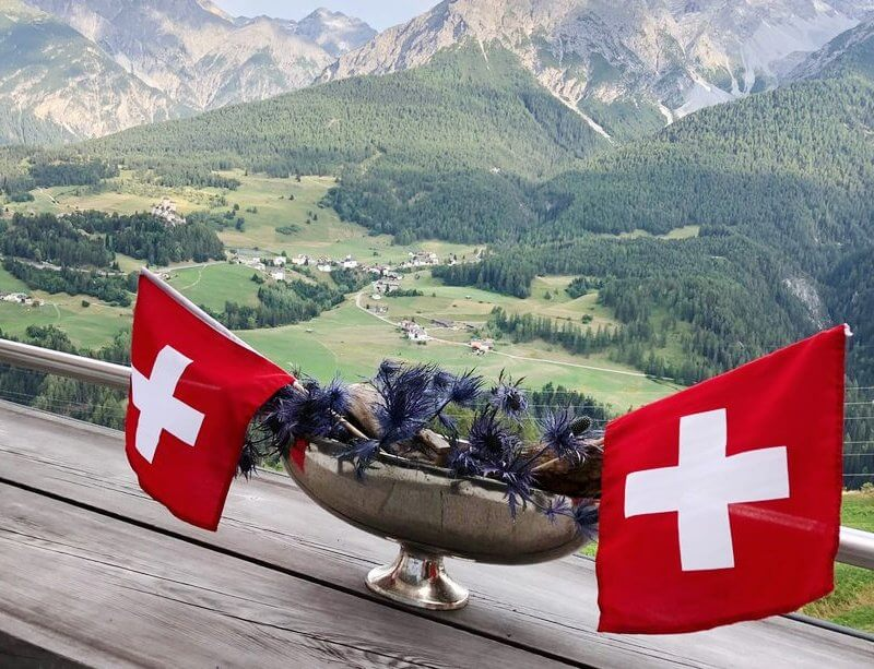 Hotel Paradies Ftan - Swiss National Day