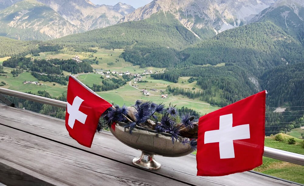 Hotel Paradies Ftan - Swiss National Day
