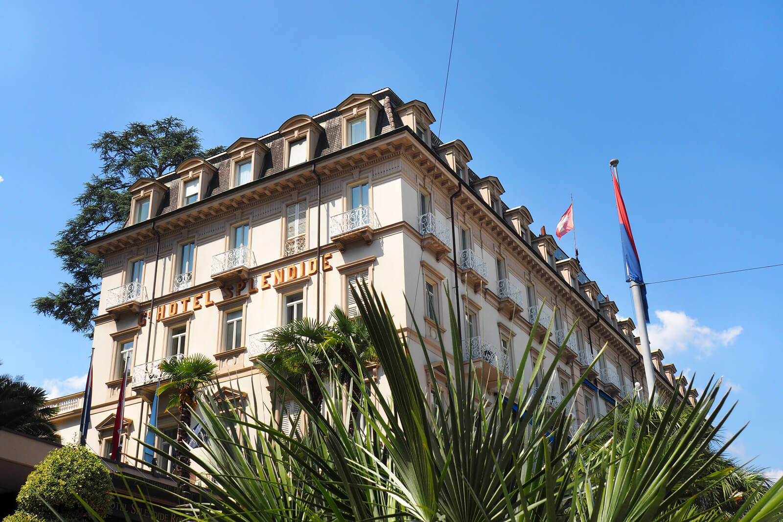 Hotel Splendide Royal in Lugano, Switzerland