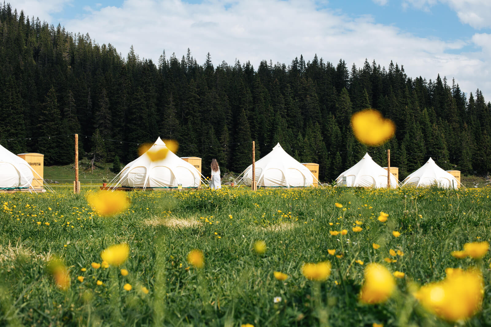 TCS Glamping Village Laax 2019