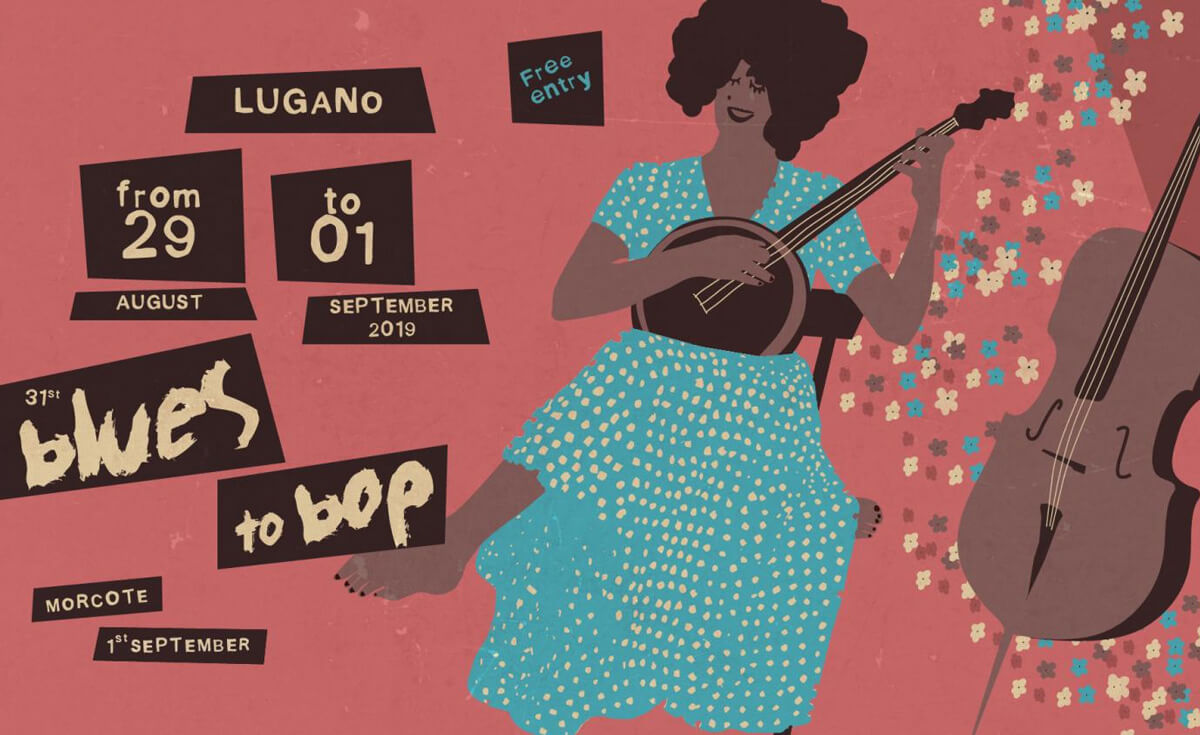 Blues to Bop 2019 is Ticino's Musical Event of the Year