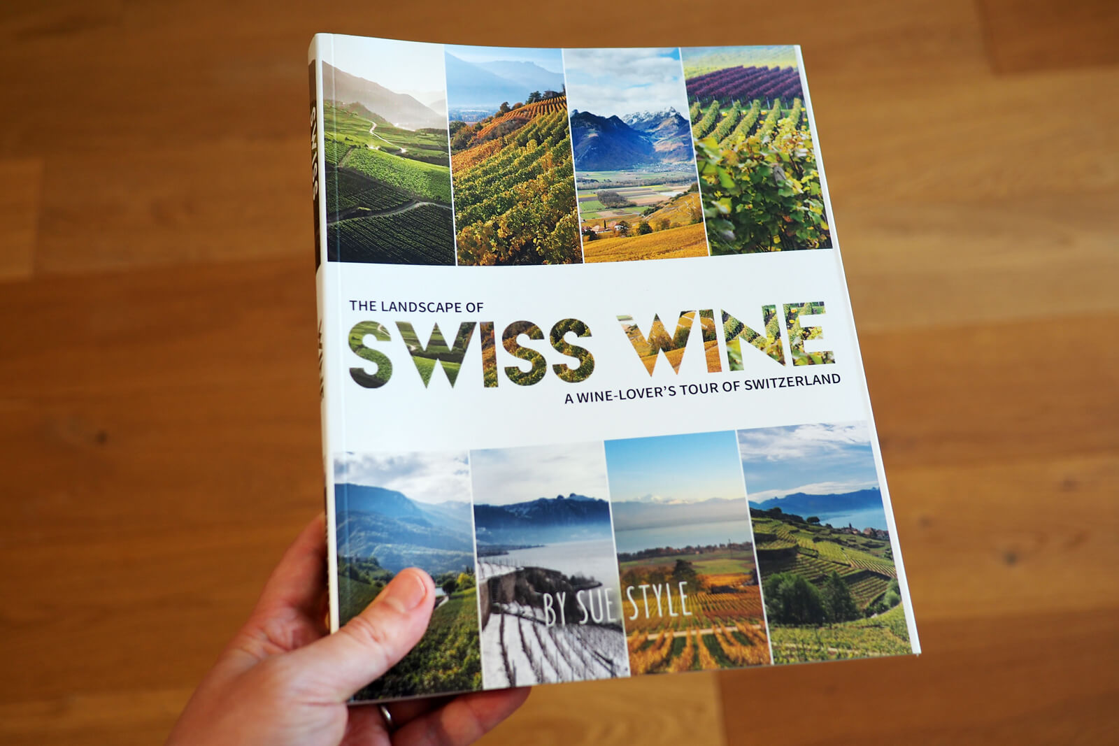 The Landscape of Swiss Wine - Bergli Books