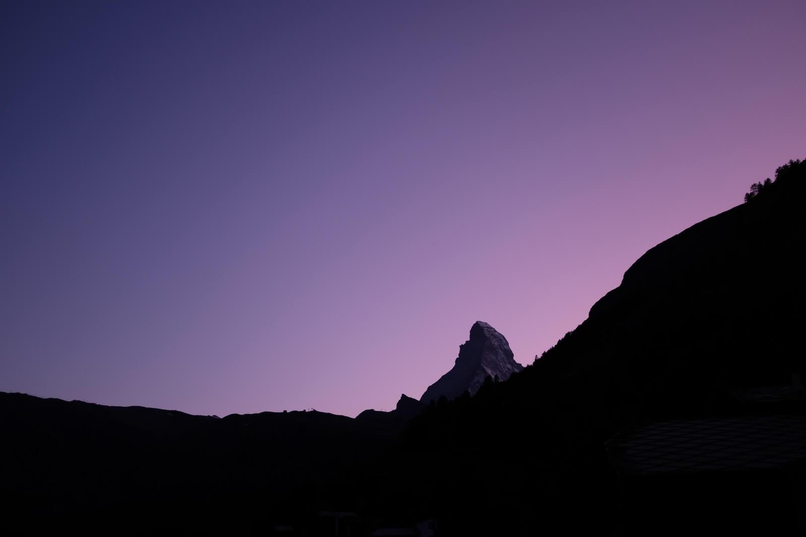 Matterhorn at Dusk, September 2019