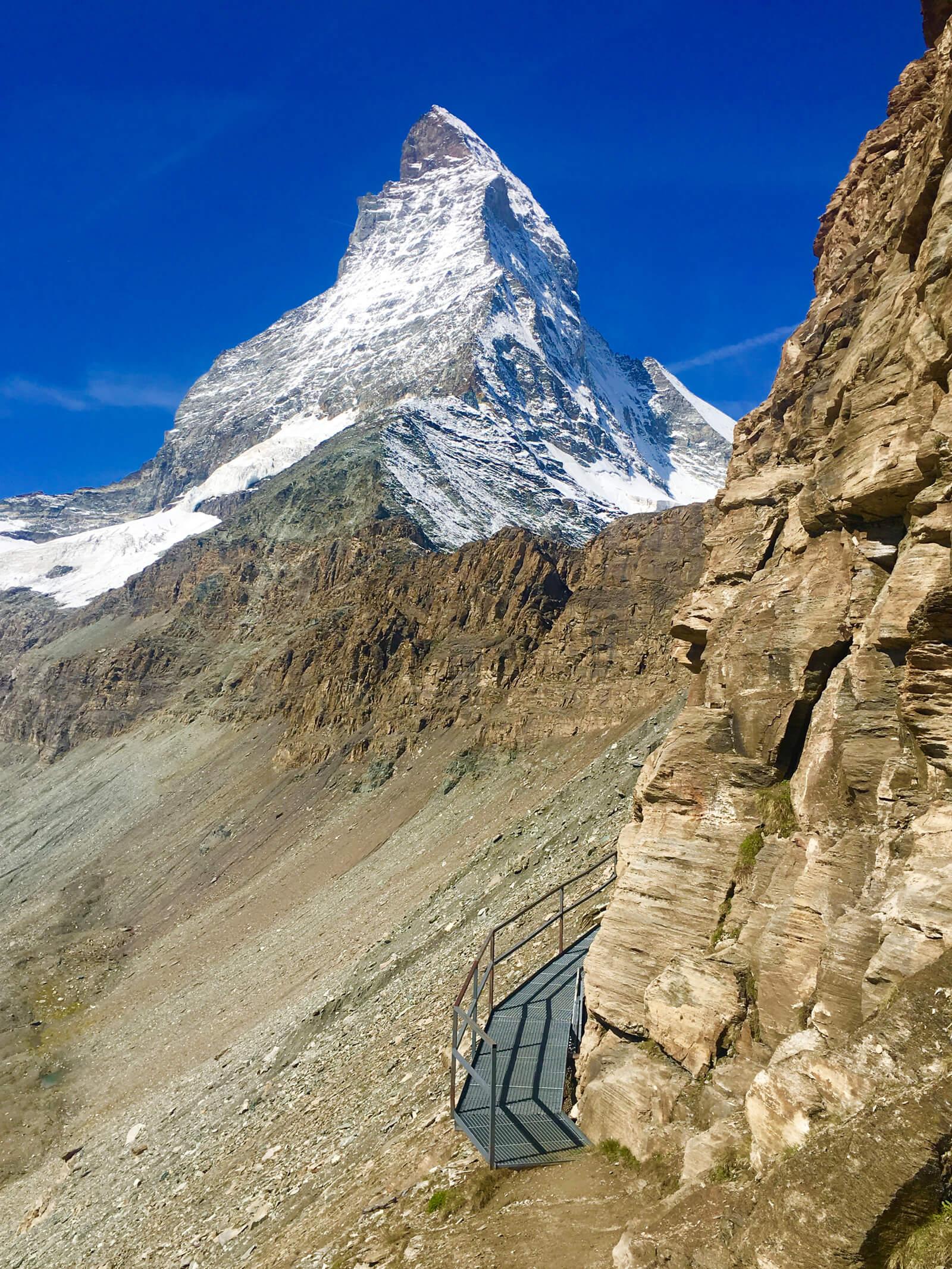 Zermatt Matterhorn Hike