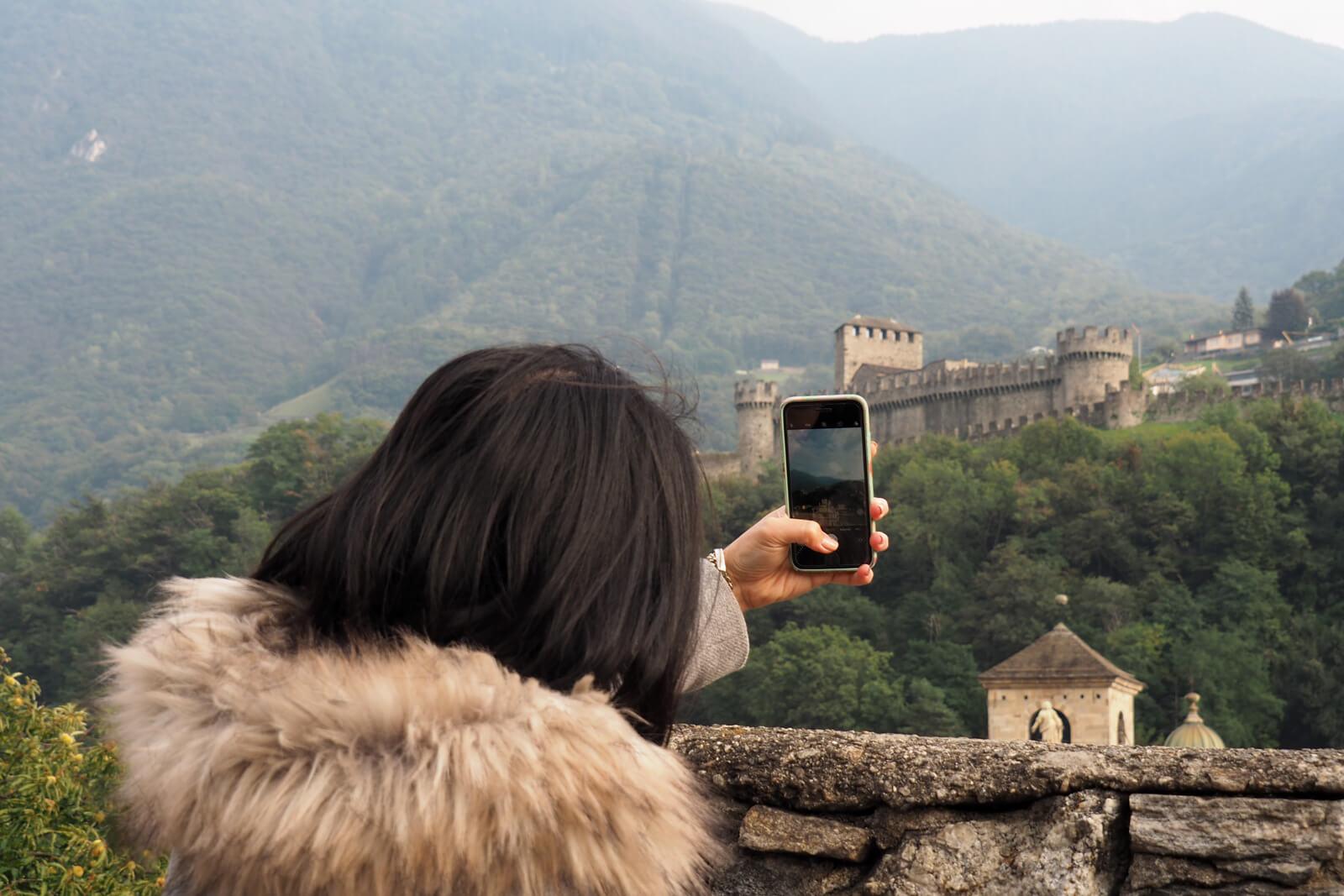 Bellinzona Castle Photo Spot