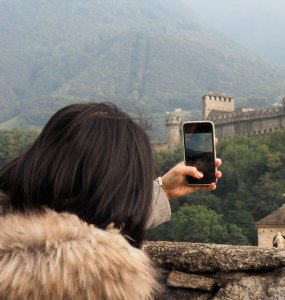 Bellinzona Castle Photo Spot
