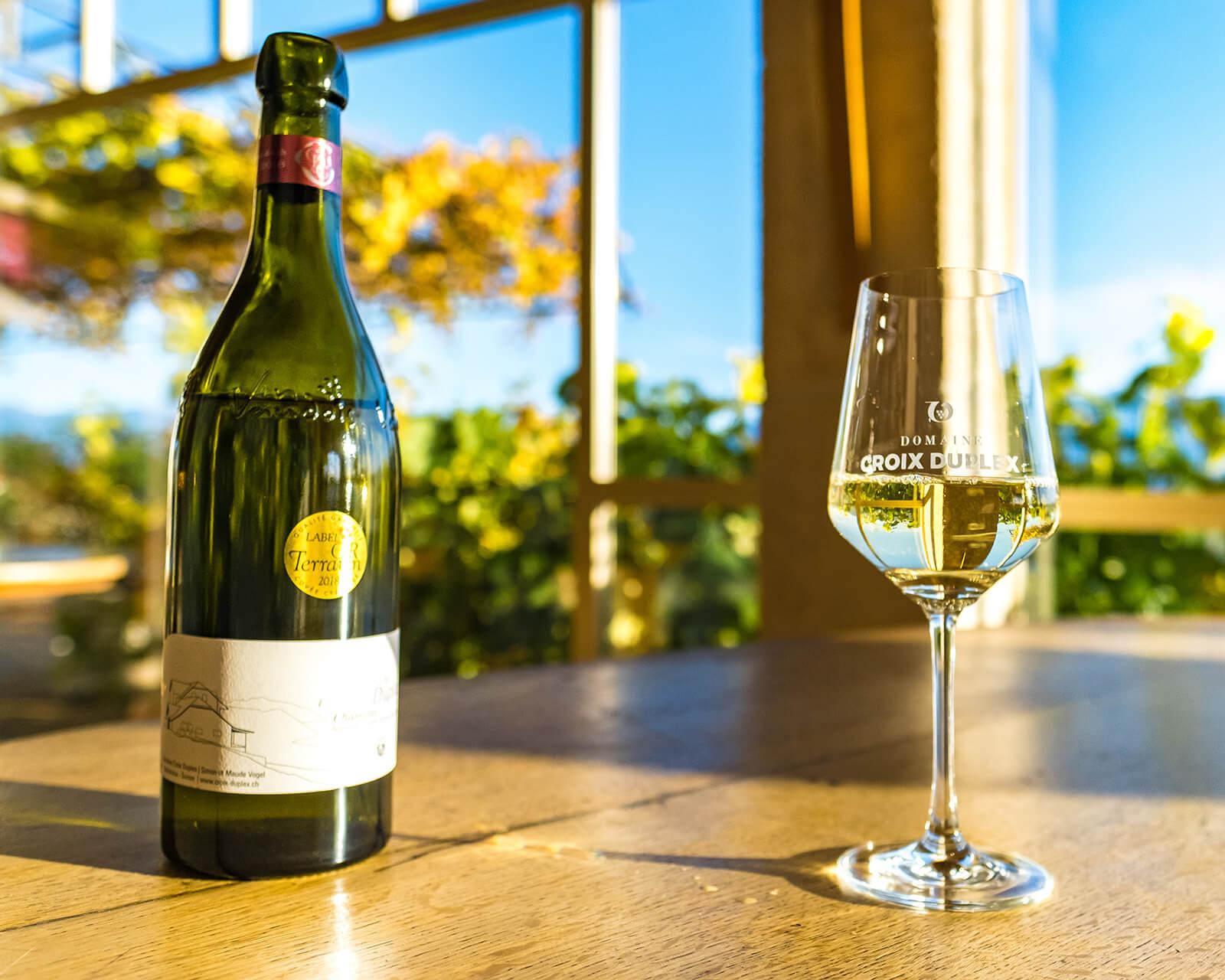 Domaine Croix Duplex Winery in Grandvaux, Switzerland