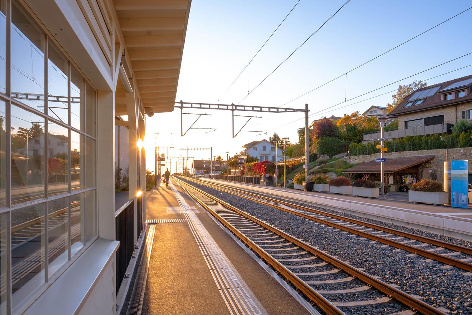 Grandvaux Train Station