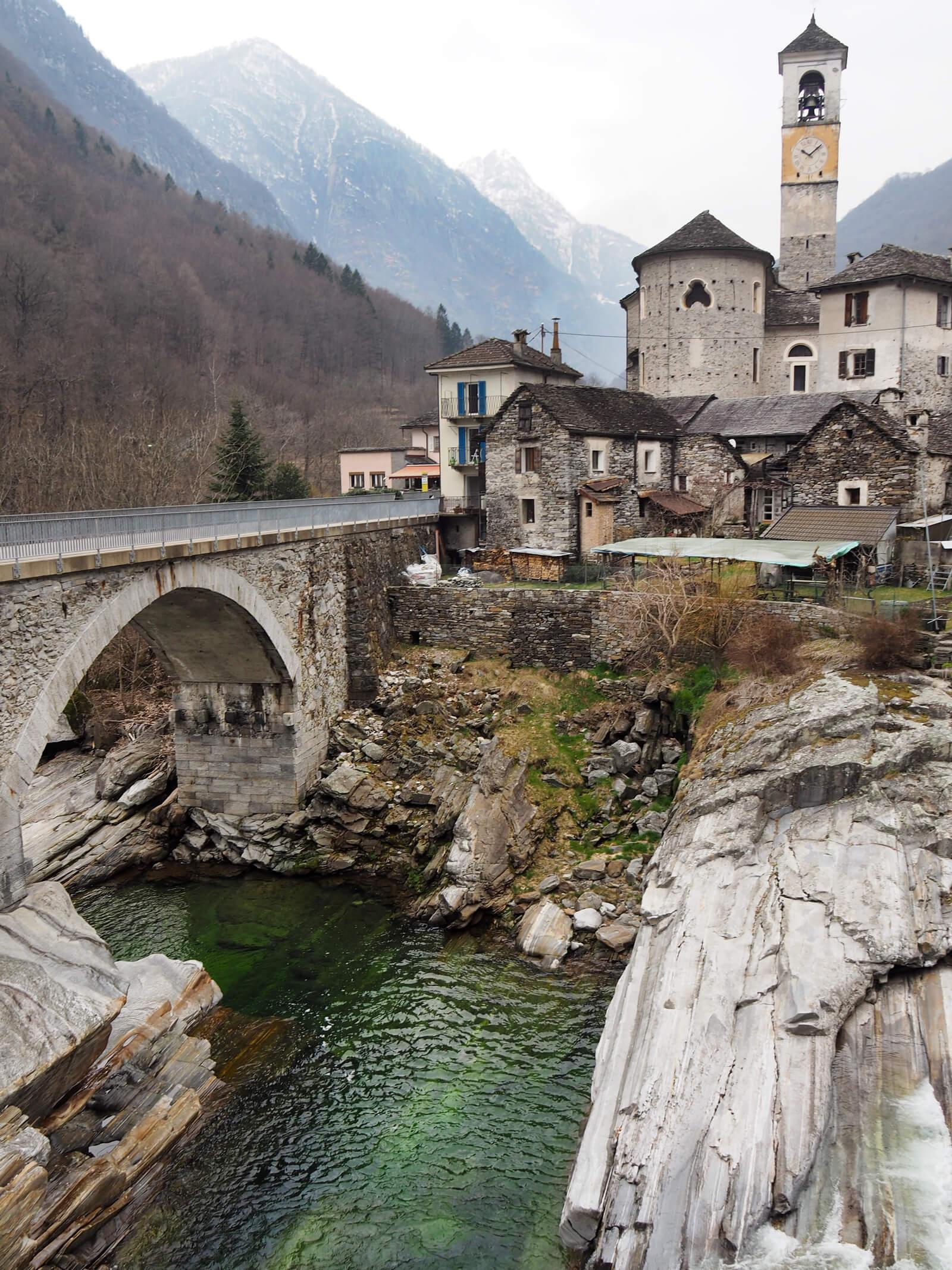 Lavertezzo in Valle Verzasca, Ticino