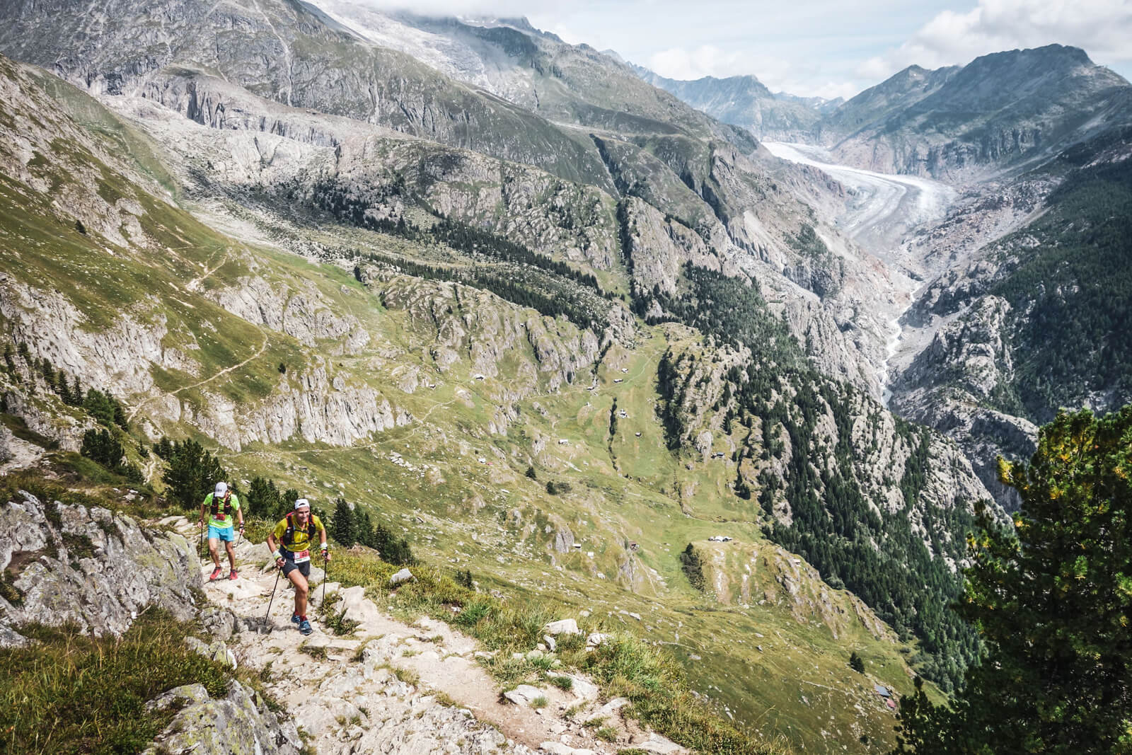 Swiss Alps 100 Endurance Race in Valais (2019)