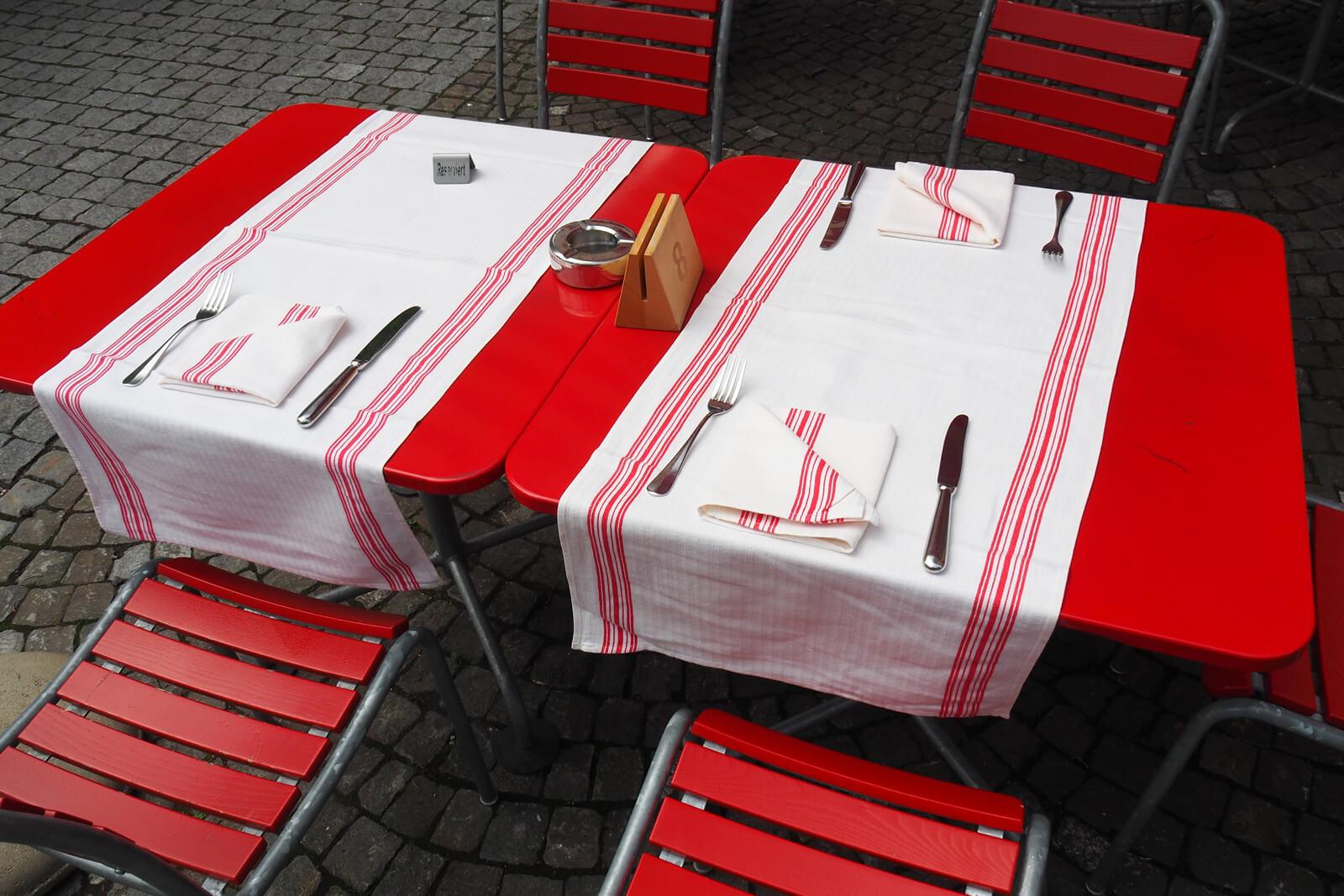 Restaurant Table in Luzern