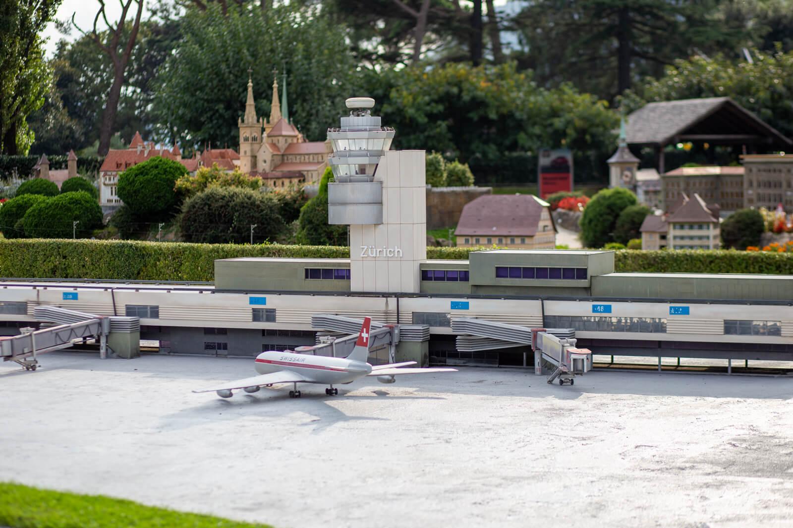 Swissminiatur in Melide - ZRH Airport