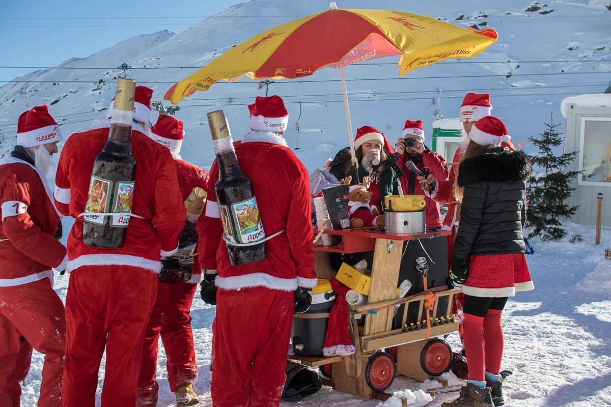 2019 ClauWau Santa World Championships in Samnaun, Switzerland