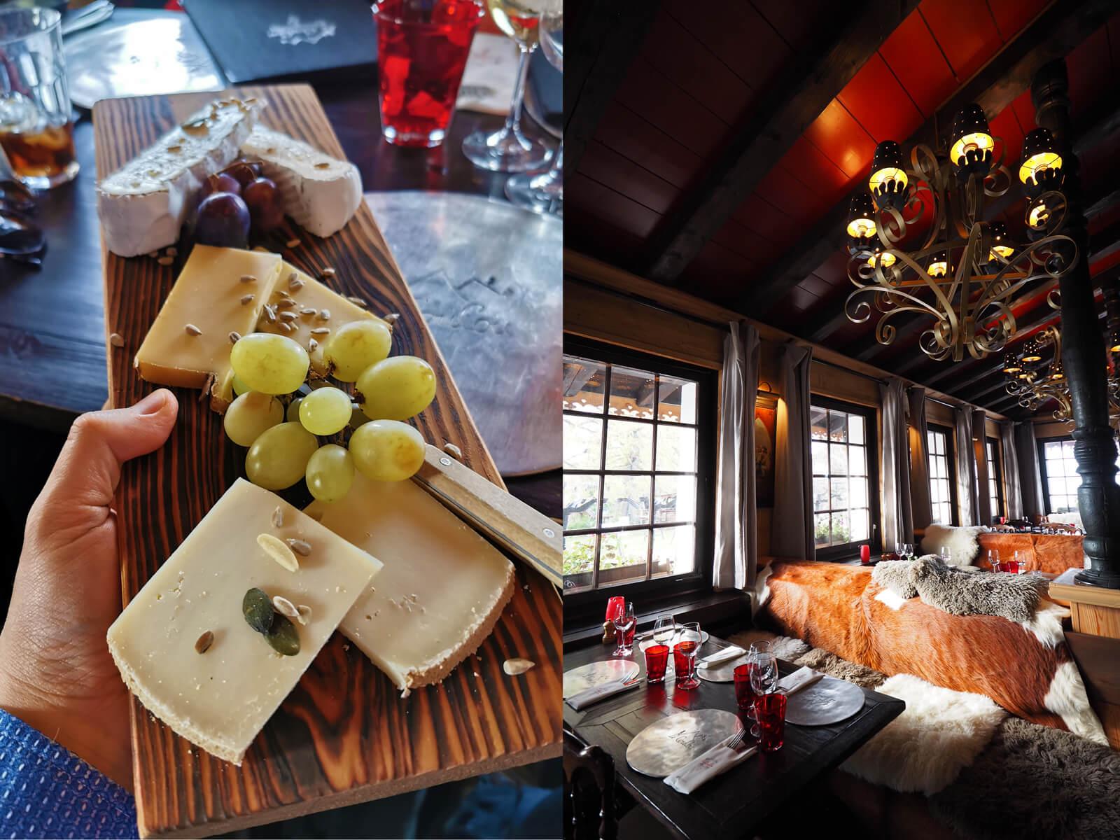 Restaurant Le CouCou in Glion