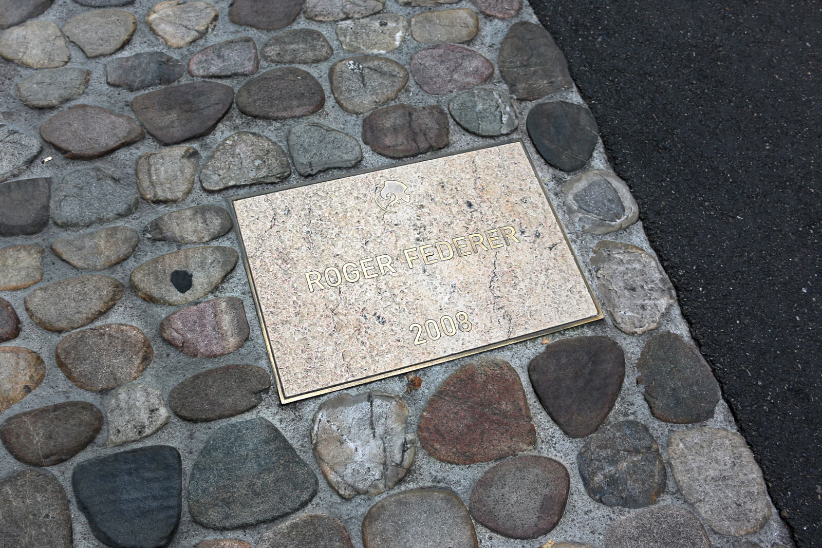 Roger Federer Walk of Fame in Basel
