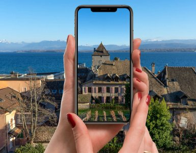 Instagramable Places in Nyon - Castle