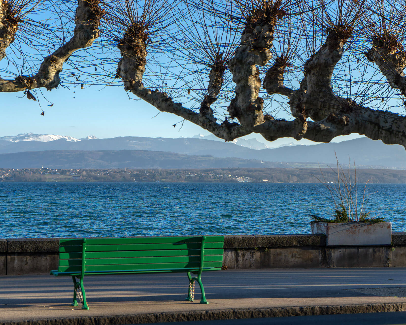 Instagramable Nyon - Lakeside