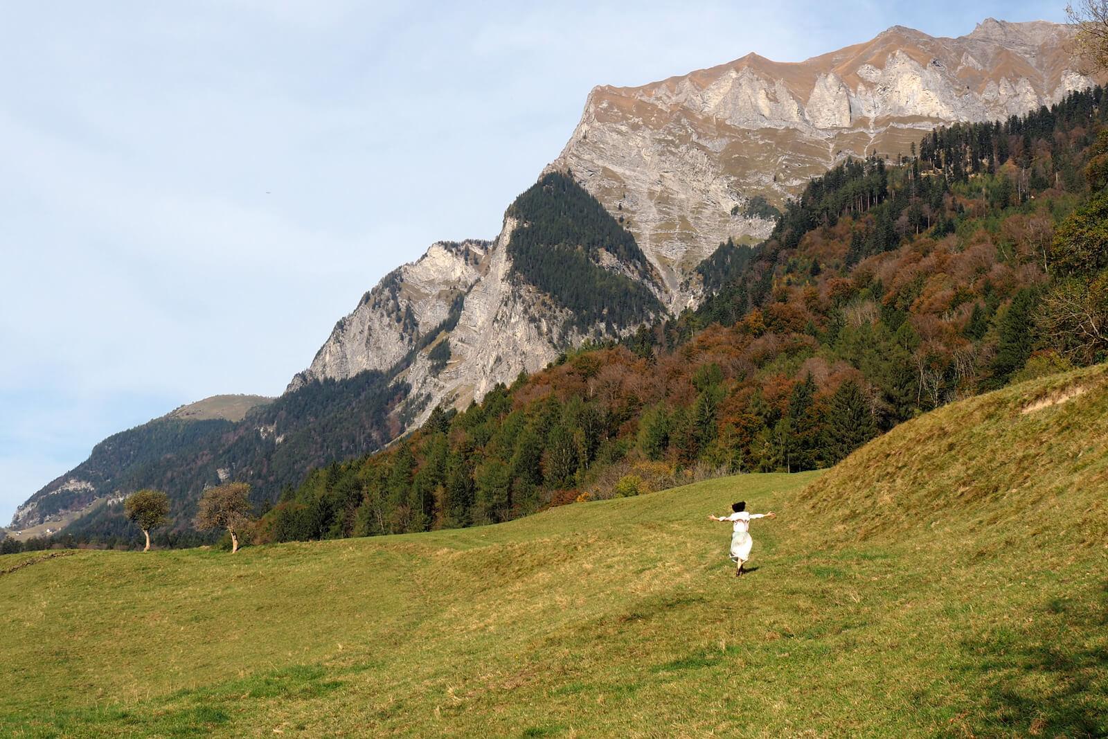 Heididorf Maienfeld, Switzerland
