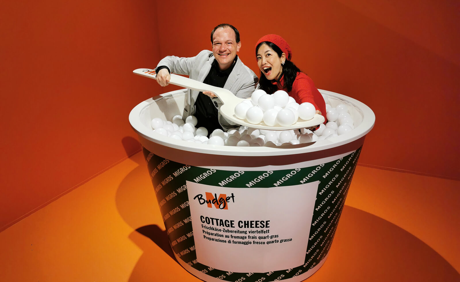 Selfiehouse Zürich - M-Budget Cottage Cheese
