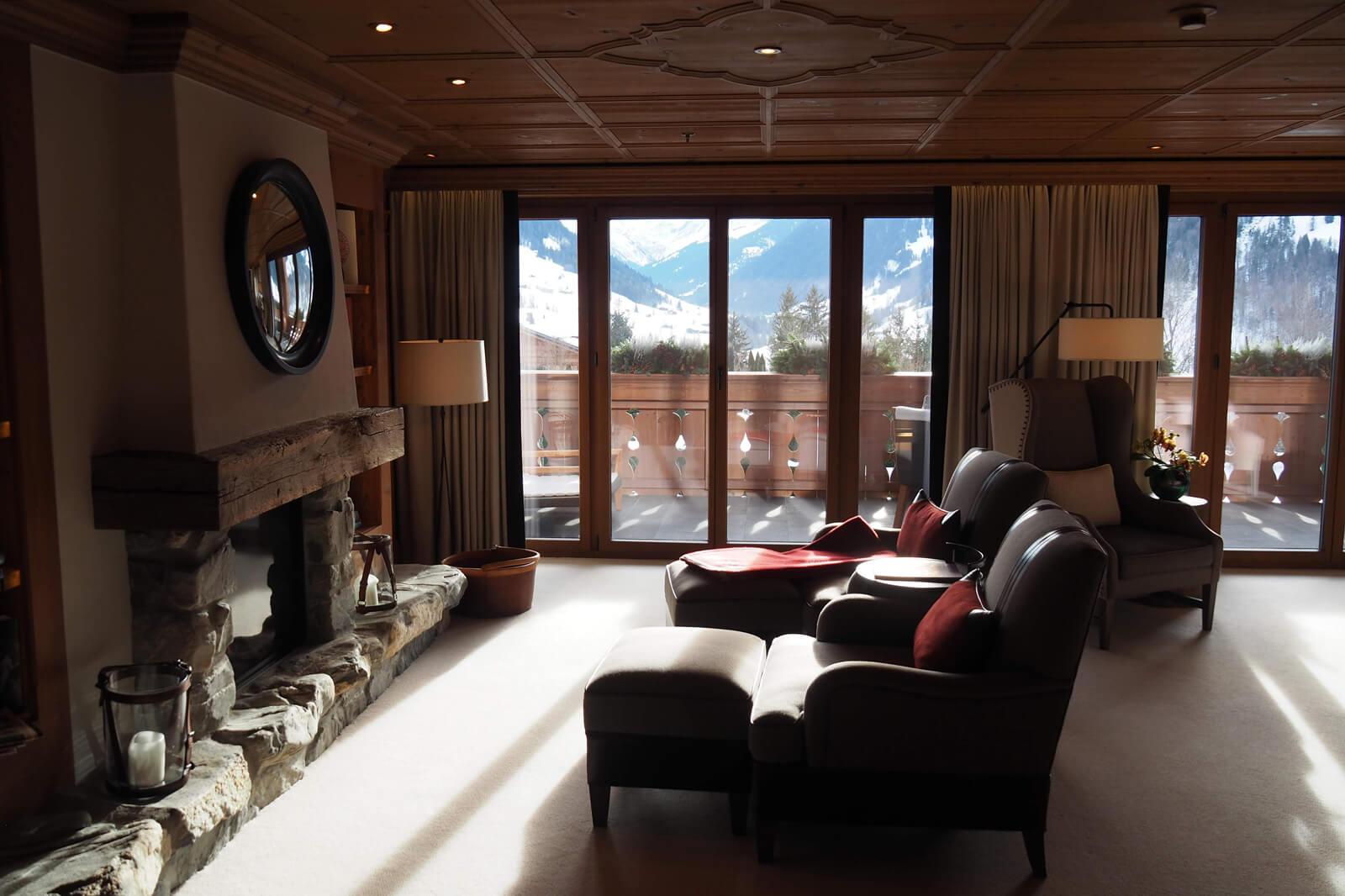The Alpina Gstaad - Junior Suite