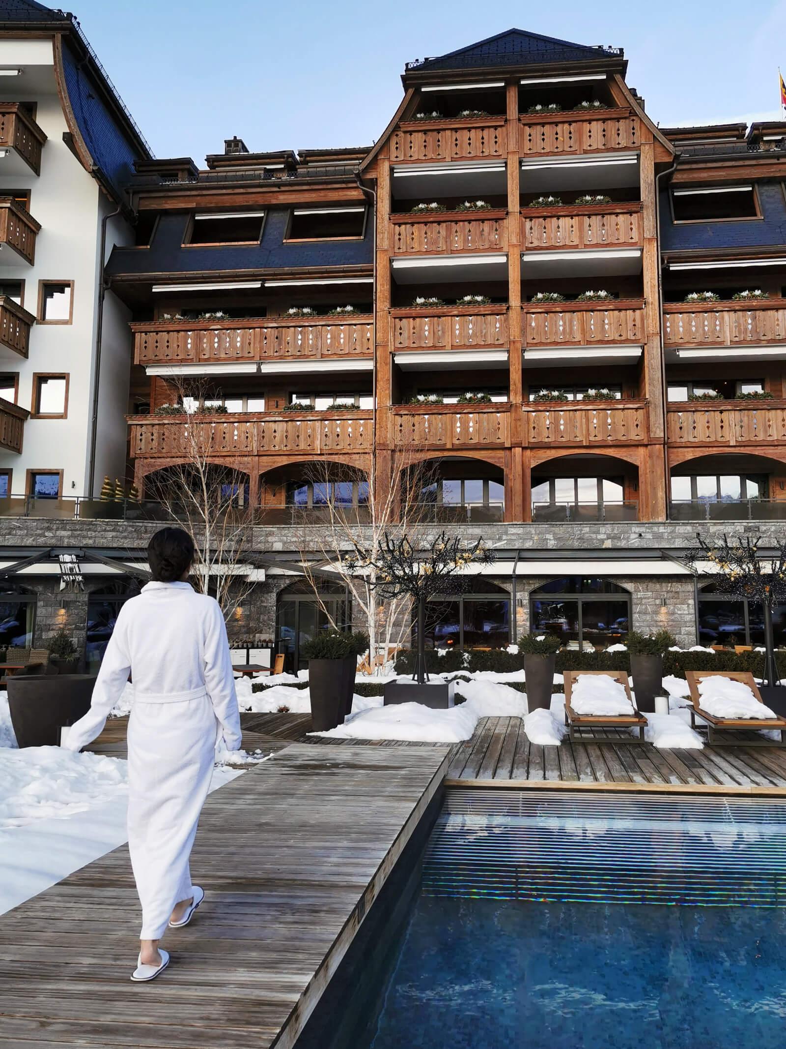 The Alpina Gstaad - Six Senses Spa