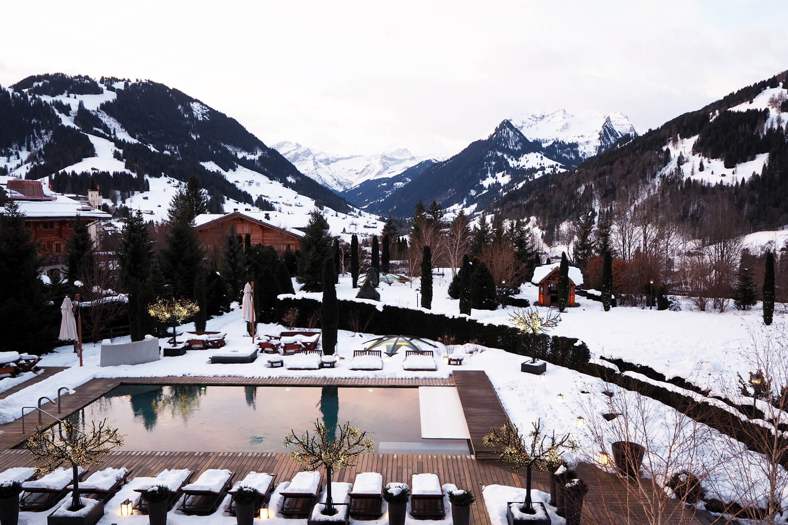 The Alpina Gstaad - View