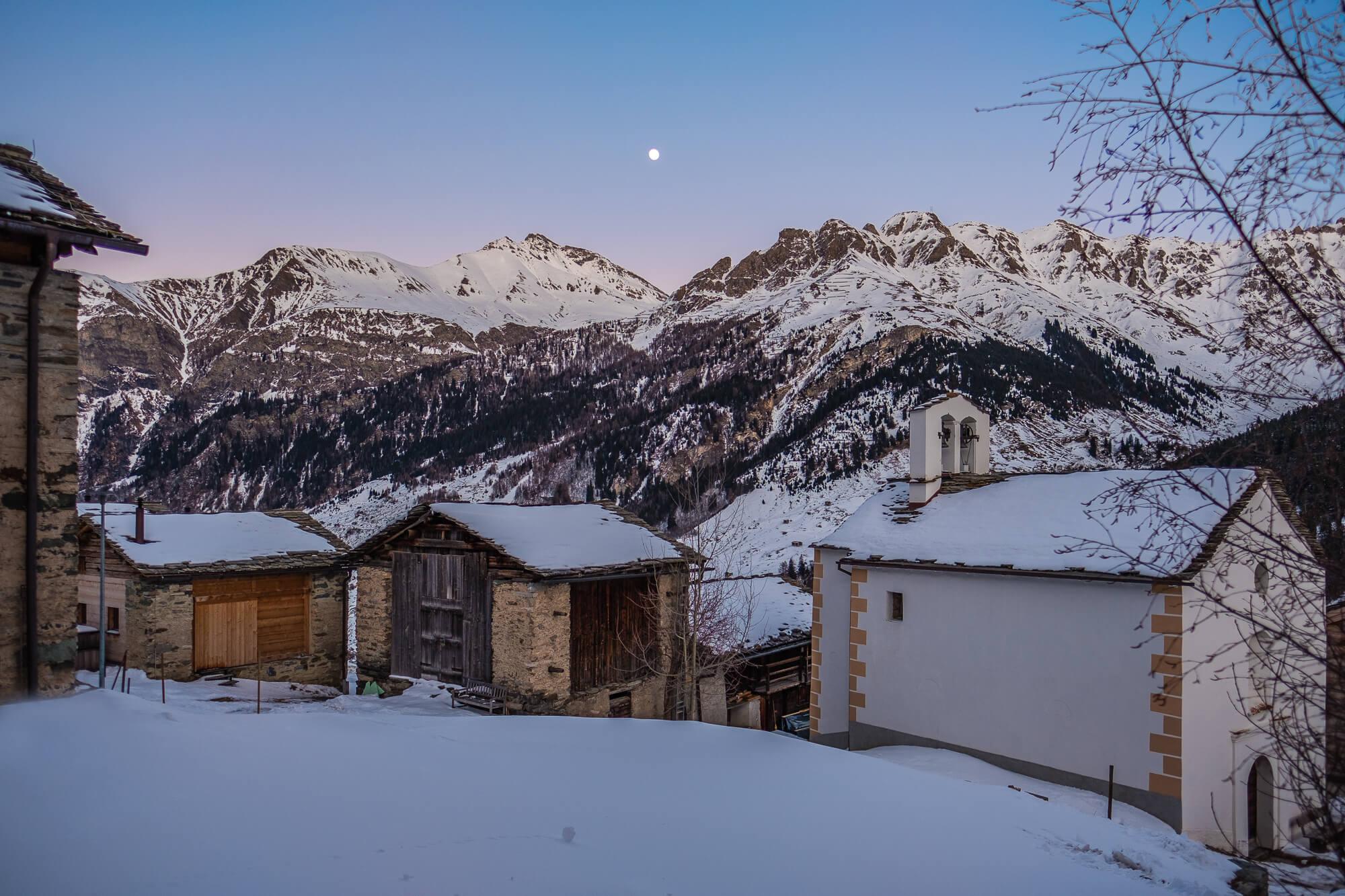 Zumthor Vacation Homes in Leis, Switzerland