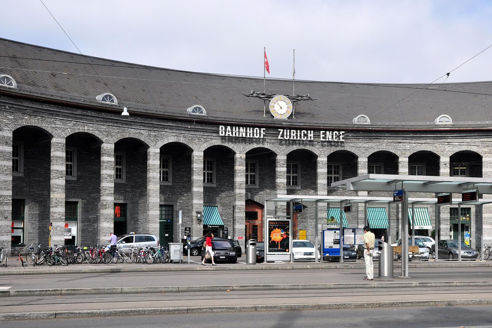 Bahnhof Enge Zürich