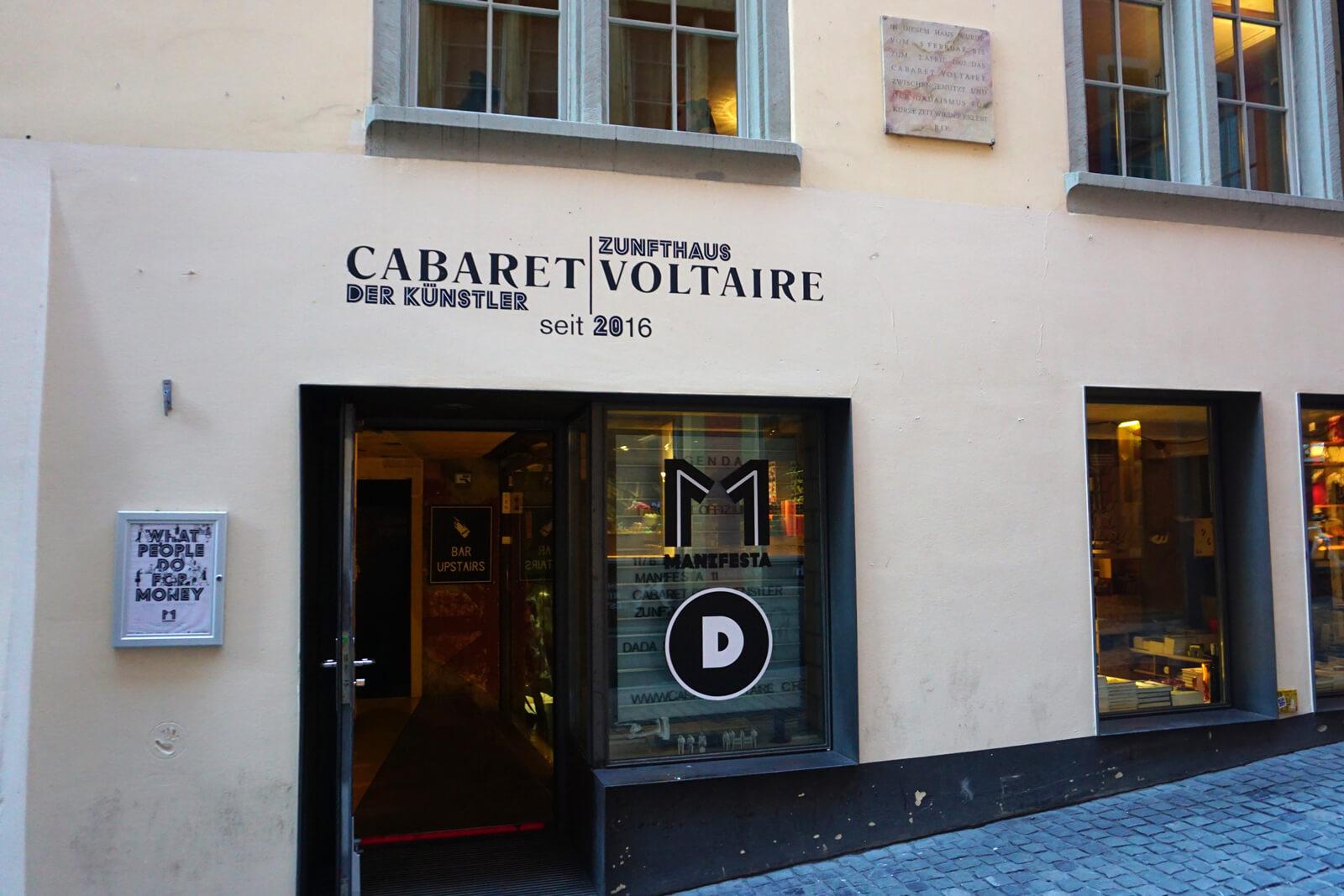 Cabaret Voltaire in Zürich