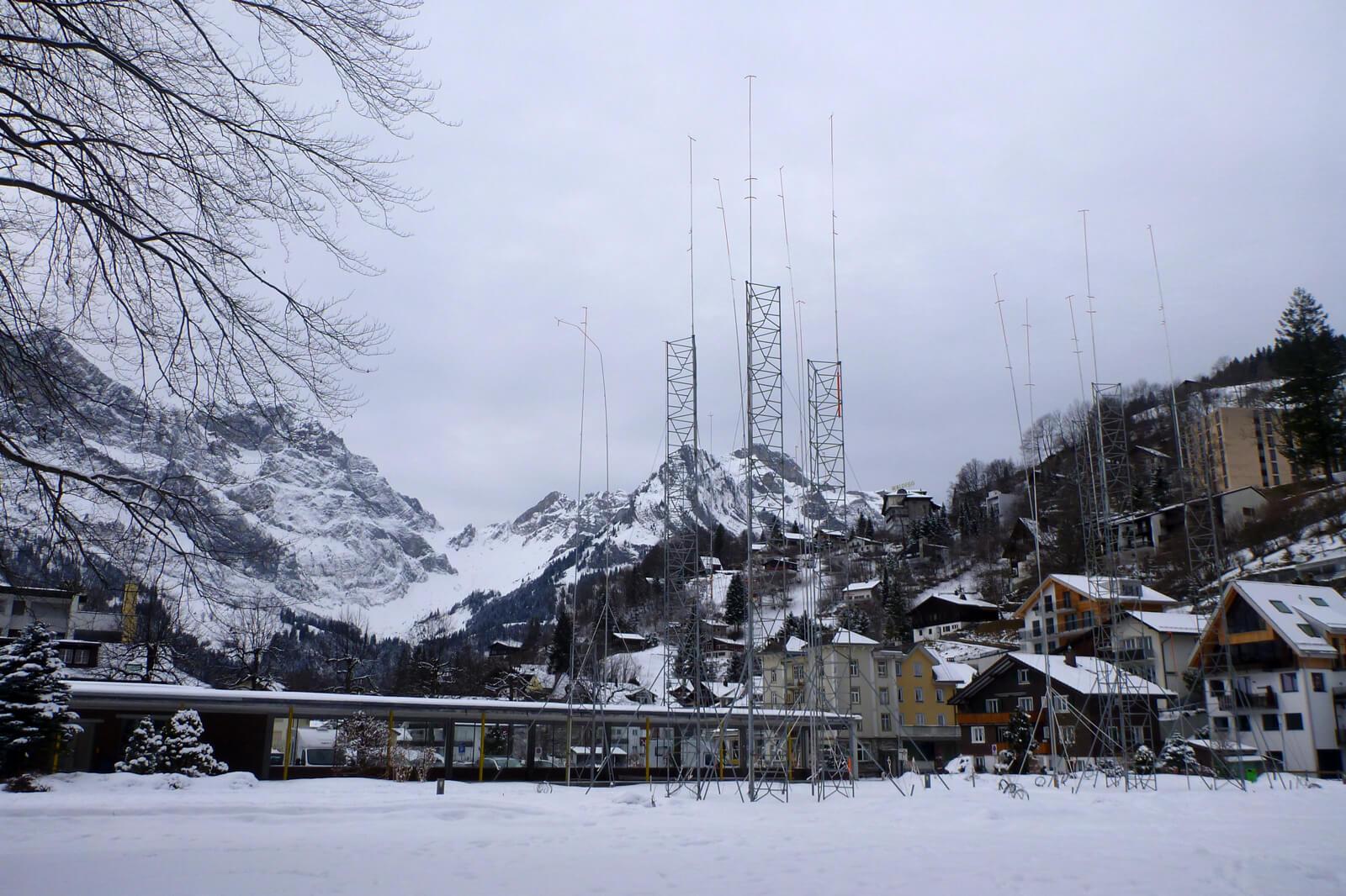 Swiss Building Poles - Baugerüst
