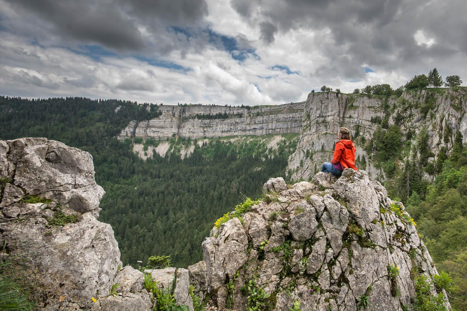 Creux du Van Rock Formations in Neuchâtel