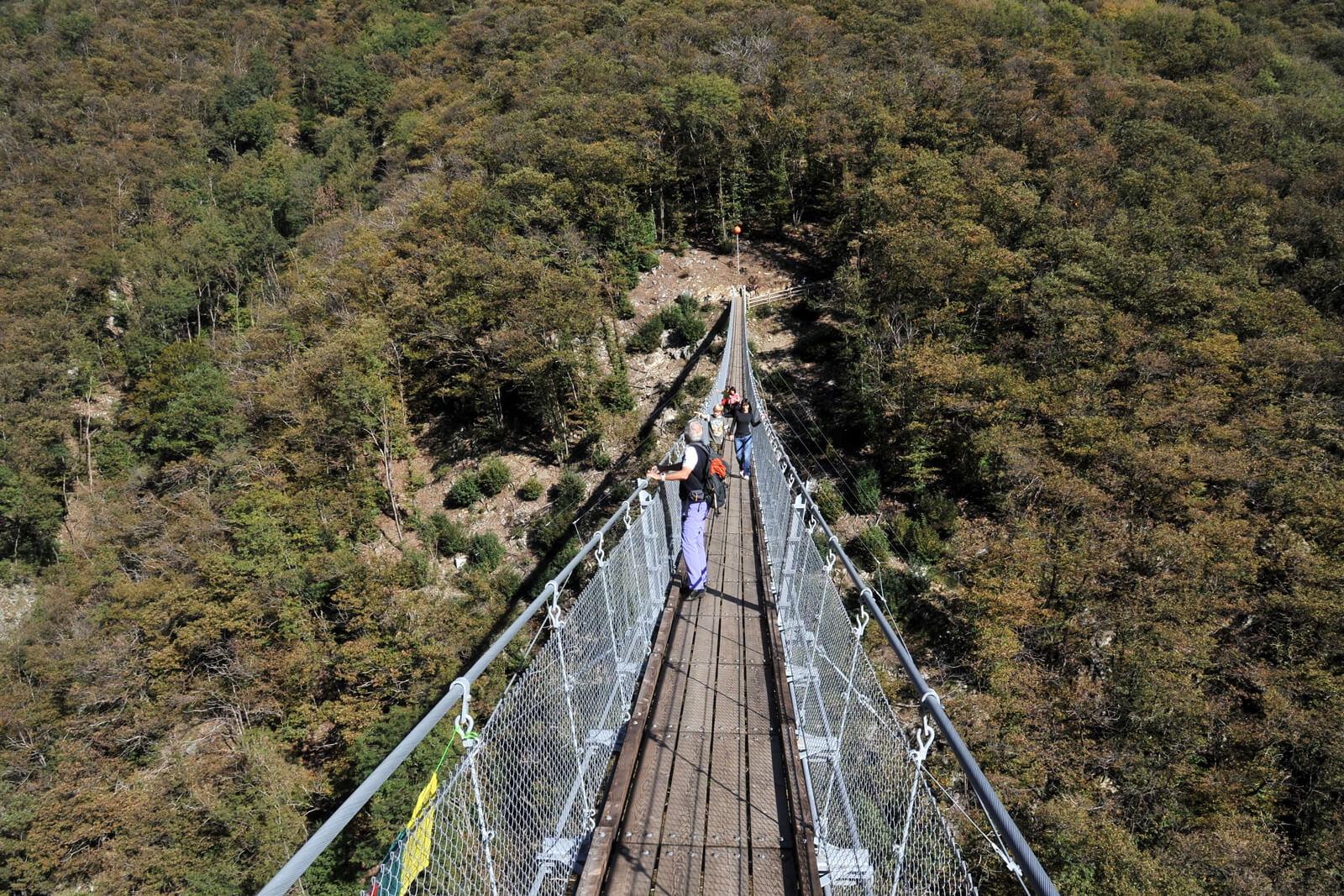 Ponte Tibetano - Carasc