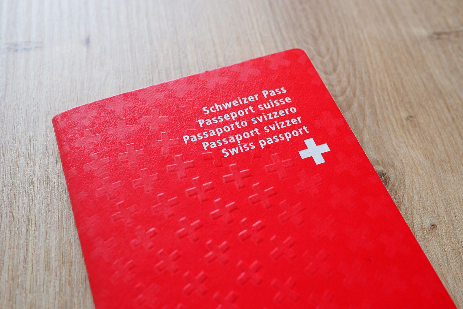 Red Swiss Passport - Switzerland Passport