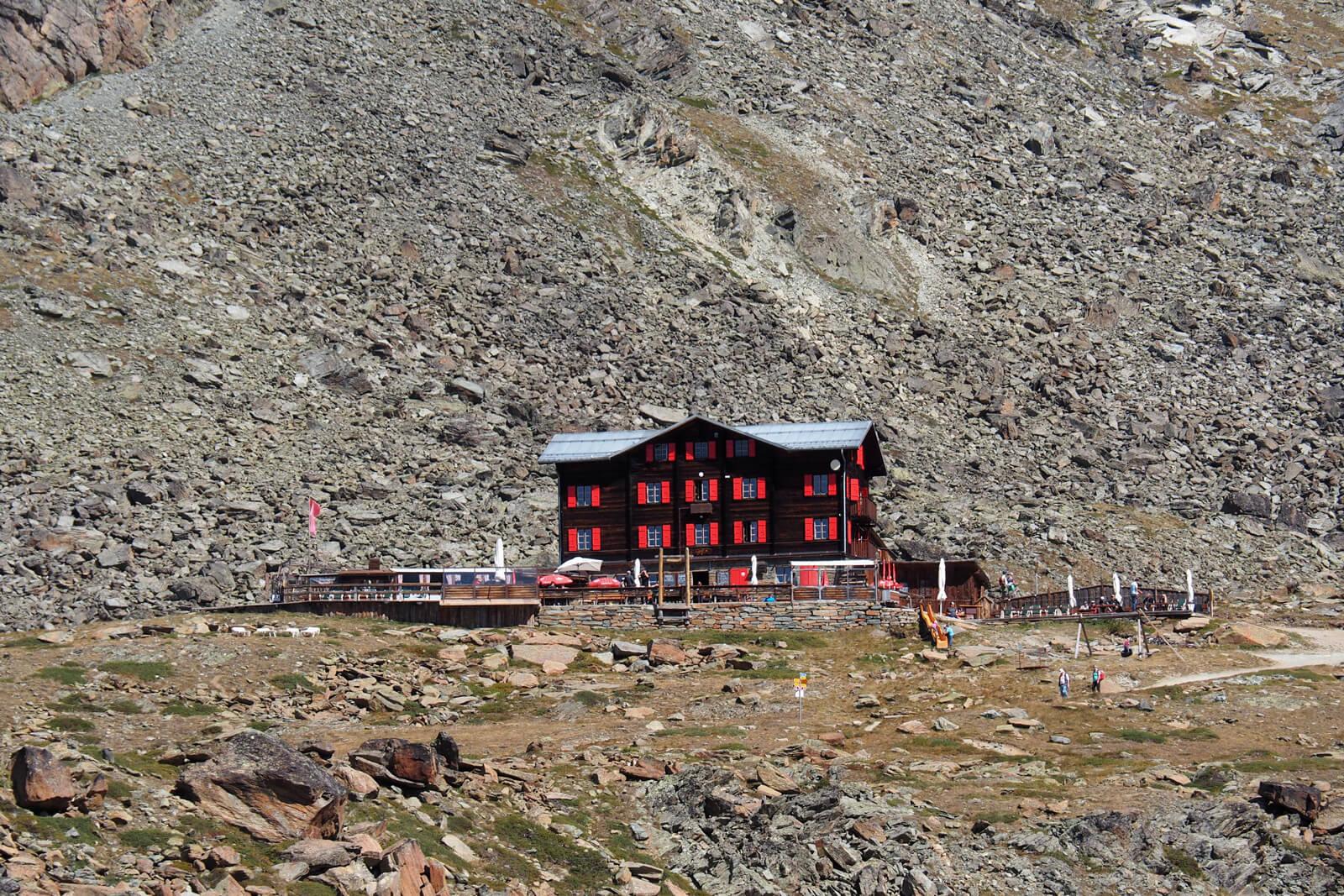 Restaurant Fluhalp à Zermatt
