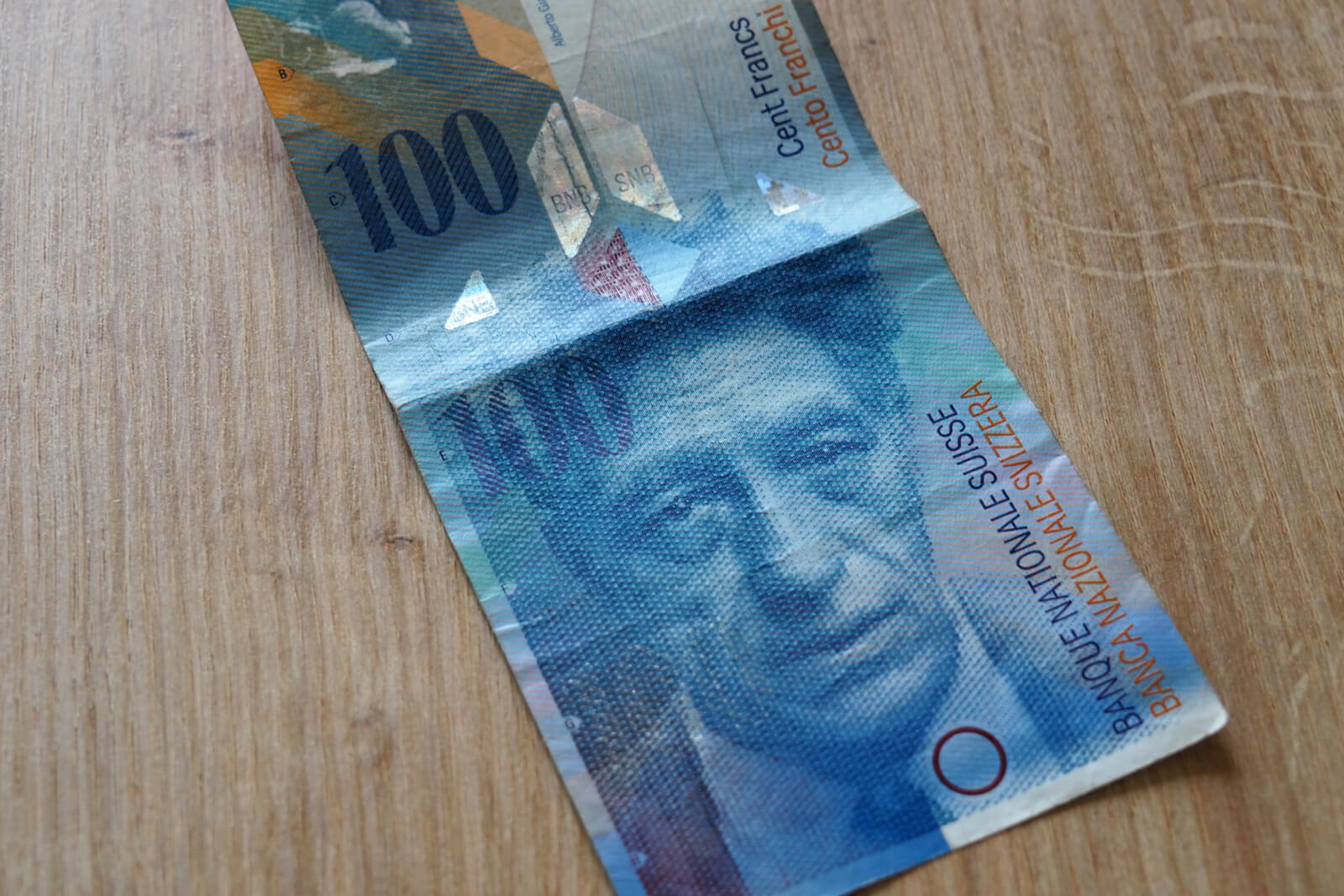 Swiss Banknote - 100 Francs
