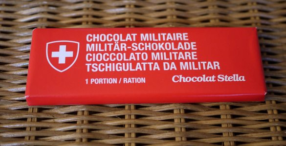 Swiss Military Chocolate