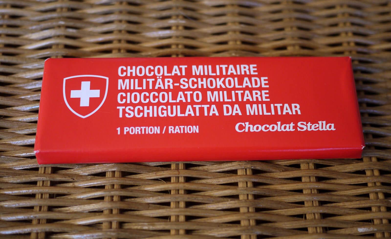 Swiss Military Chocolate