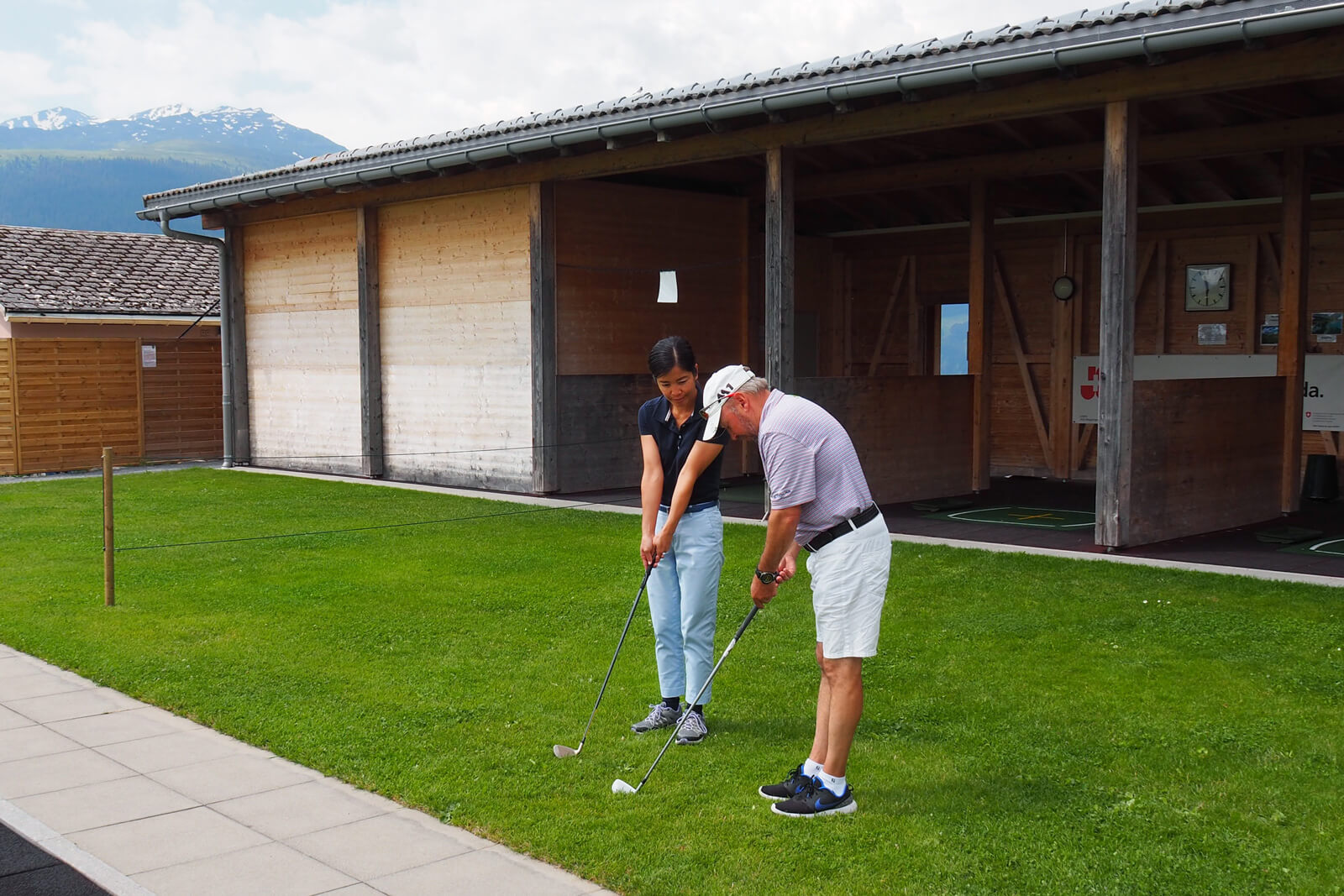 Golfing in Graubünden at Brigels Golf Course