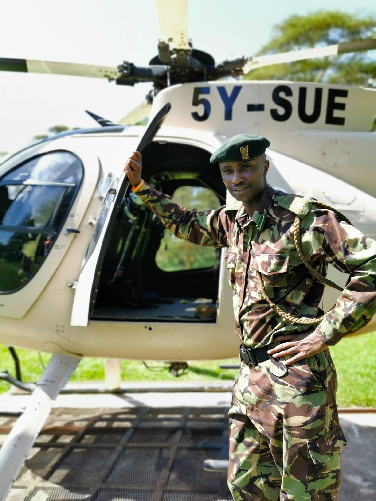 Lewa - Anti-Poaching Helicopter
