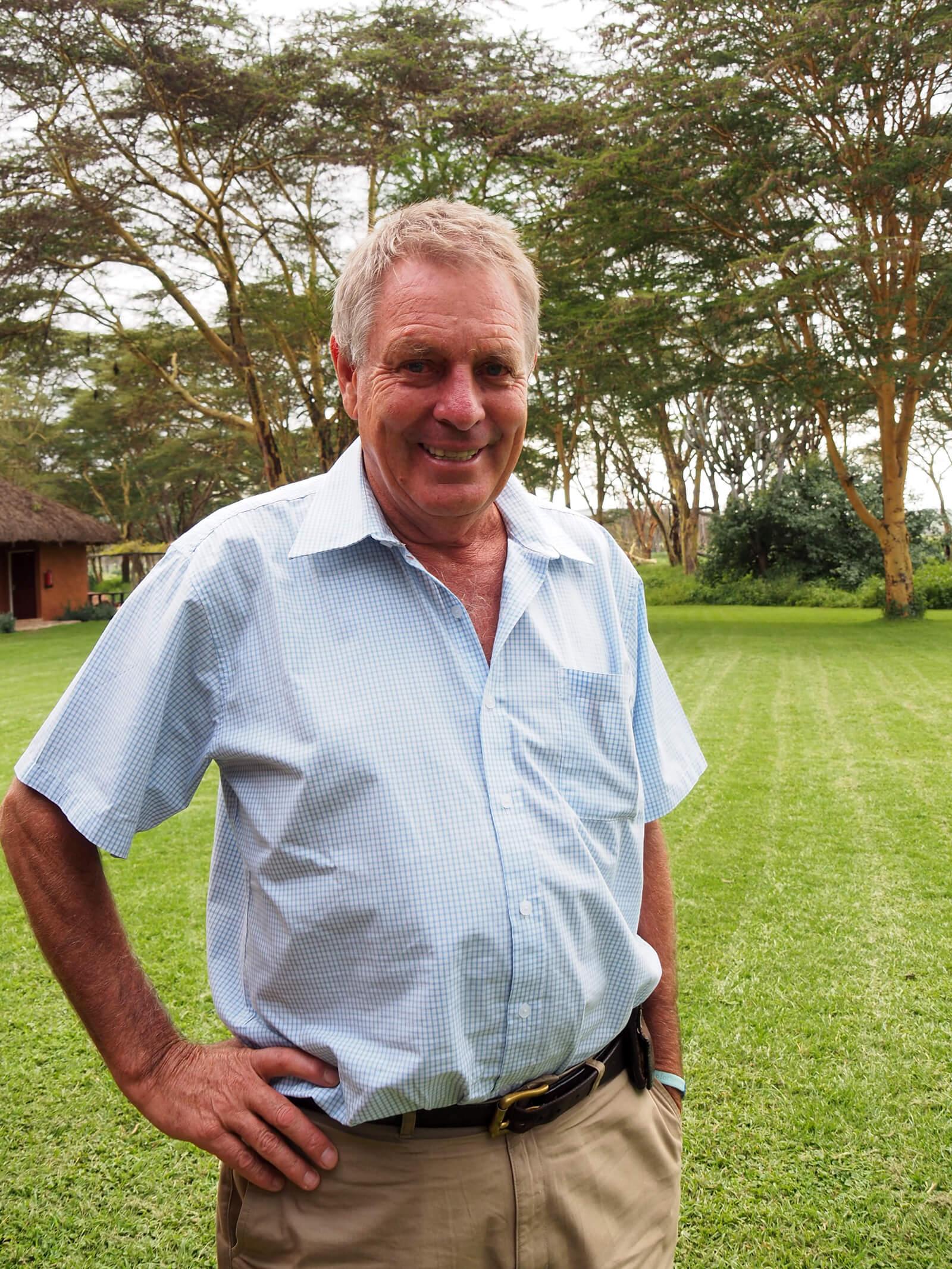 Lewa Wildlife Conservancy - Mr. Ian Craig
